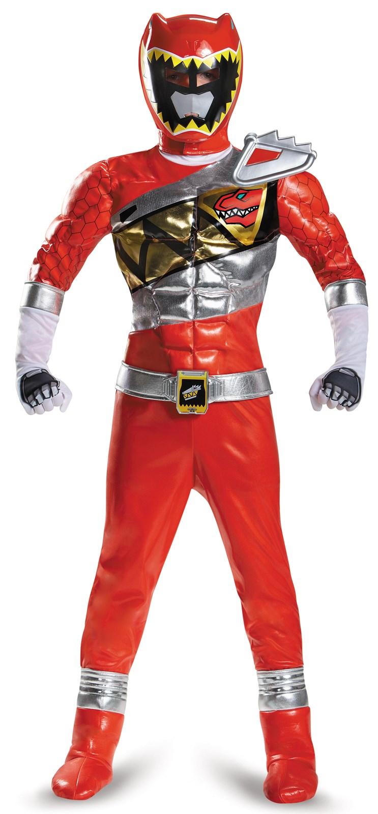Power Rangers Dino Charge: Prestige Red Ranger Costume For Kids ...