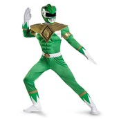 Power Rangers Green Ranger Classic Muscle Adult Costume