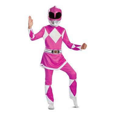 Power Rangers - Mighty Morphin  Pink Ranger Deluxe Child Costume