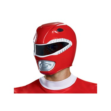 Power Rangers - Mighty Morphin  Red Ranger Adult Helmet