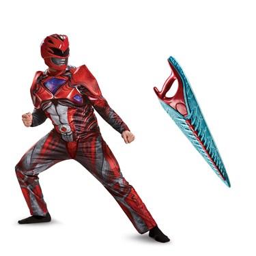Power Rangers Movie: Red Ranger Adult Costume Kit