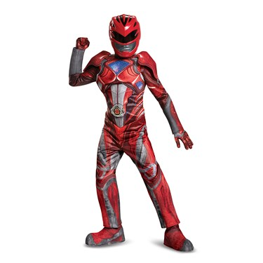 Power Rangers:  Red Ranger Prestige Child Costume