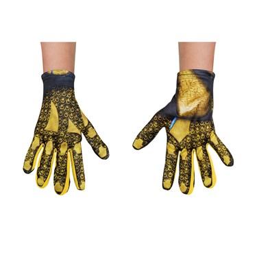 Power Rangers:  Yellow Ranger Child Gloves