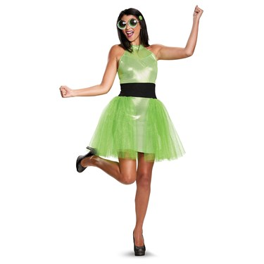 Powerpuff Girls Buttercup Deluxe Adult Costume