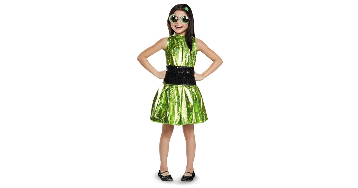 Powerpuff Girls Buttercup Deluxe Child Costume ... Powerpuff Girls Buttercup Costume