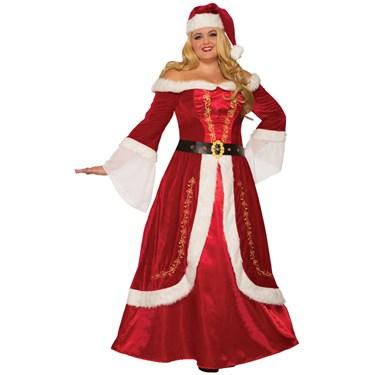 Premium Mrs. Claus Adult Costume
