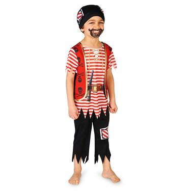 Printed Pirate Matey Toddler Costume