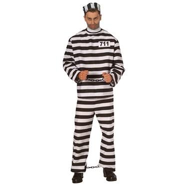 Prisoner Man Adult Costume