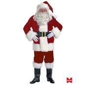 Professional Velvet Santa Adult Suit