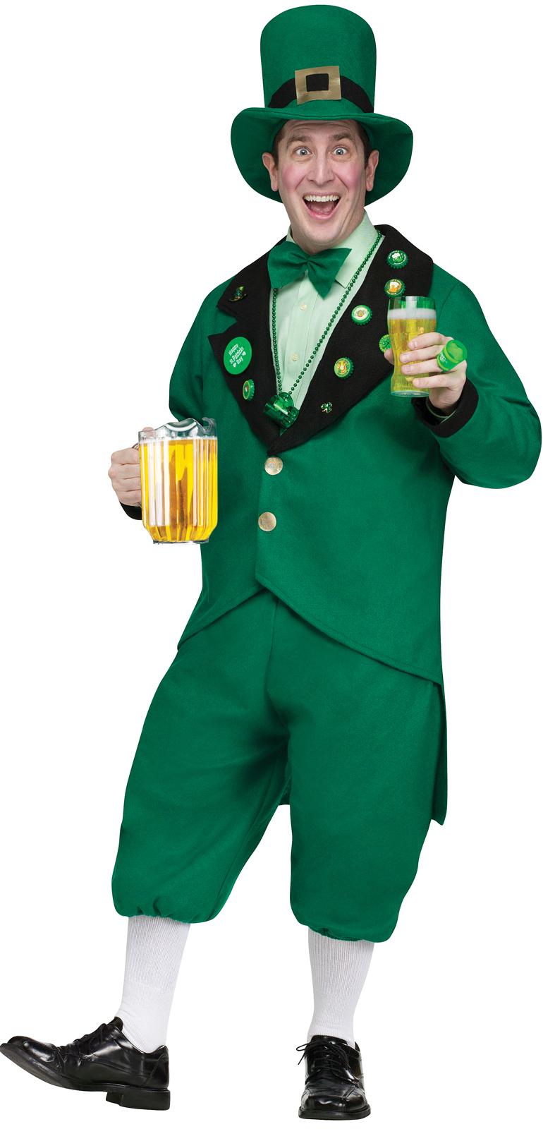 Pub Crawl Leprechaun Adult Costume | BuyCostumes.com
