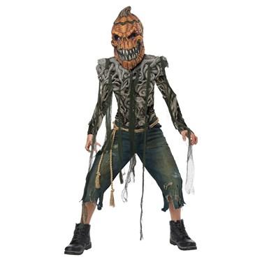 Pumpkin Creature Child Costume