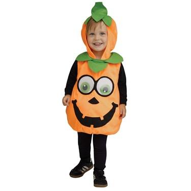 Pumpkin Googly Eyes Infant Costume