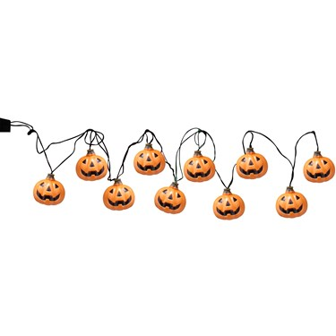 Pumpkin String Lights For Halloween