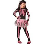 Punk Skeleton Child Costume