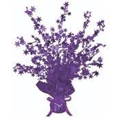 Purple Foil Star Gleam 'N Burst Centerpiece
