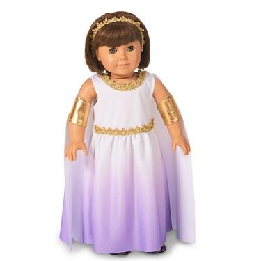"Purple Passion Greek Goddess 18"" Doll Costume"