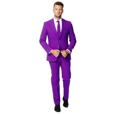 Purple Prince Opposuits Adult Costume