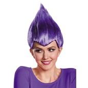 Purple Troll Adult Wig