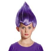 Purple Troll Child Wig