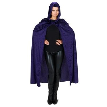 Purple Velvet Adult Cape