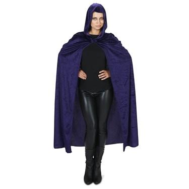 Purple Velvet Adult Plus Cape