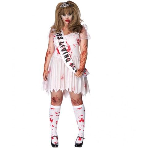 Putrid Prom Queen Adult Plus Costume