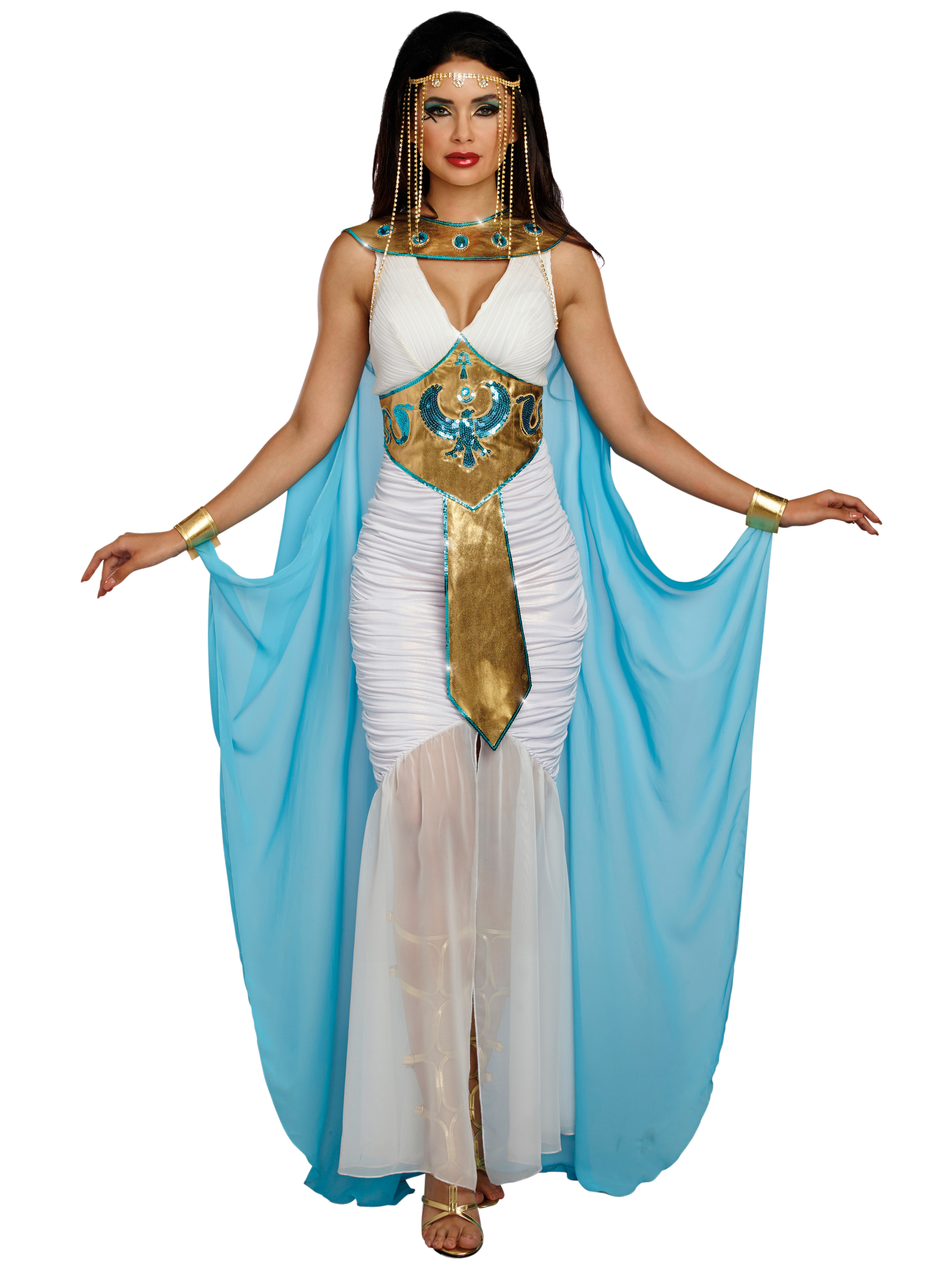 Jewel Of The Nile Cleopatra Costumes | BuyCostumes.com