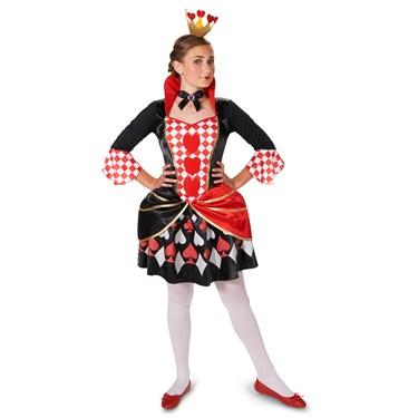 Queen of Hearts Tween Costume