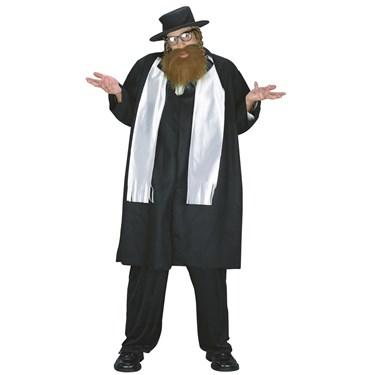 Rabbi Adult Plus Costume