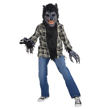 Rabid Werewolf Child Costume