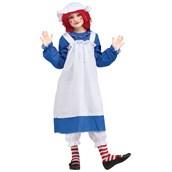Raggedy Ann & Andy - Ann Child Costume