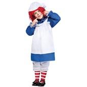 Raggedy Ann & Andy - Ann Toddler Costume