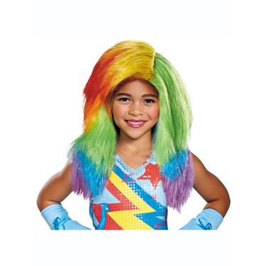 Rainbow Dash Movie Child Wig