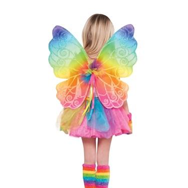 Rainbow Fairy Child Wings