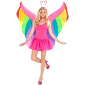 Rainbow Inflatable Wings