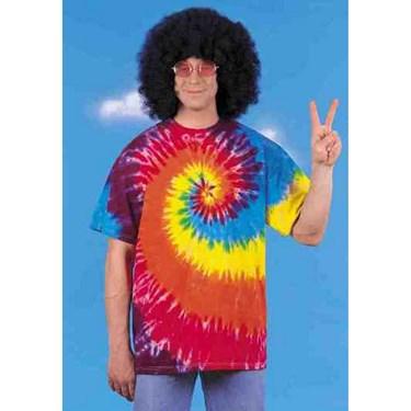 Rasta Tie-dye T-shirt Adult Costume