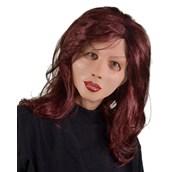 Red Hot Full Mask w/ Auburn Hair