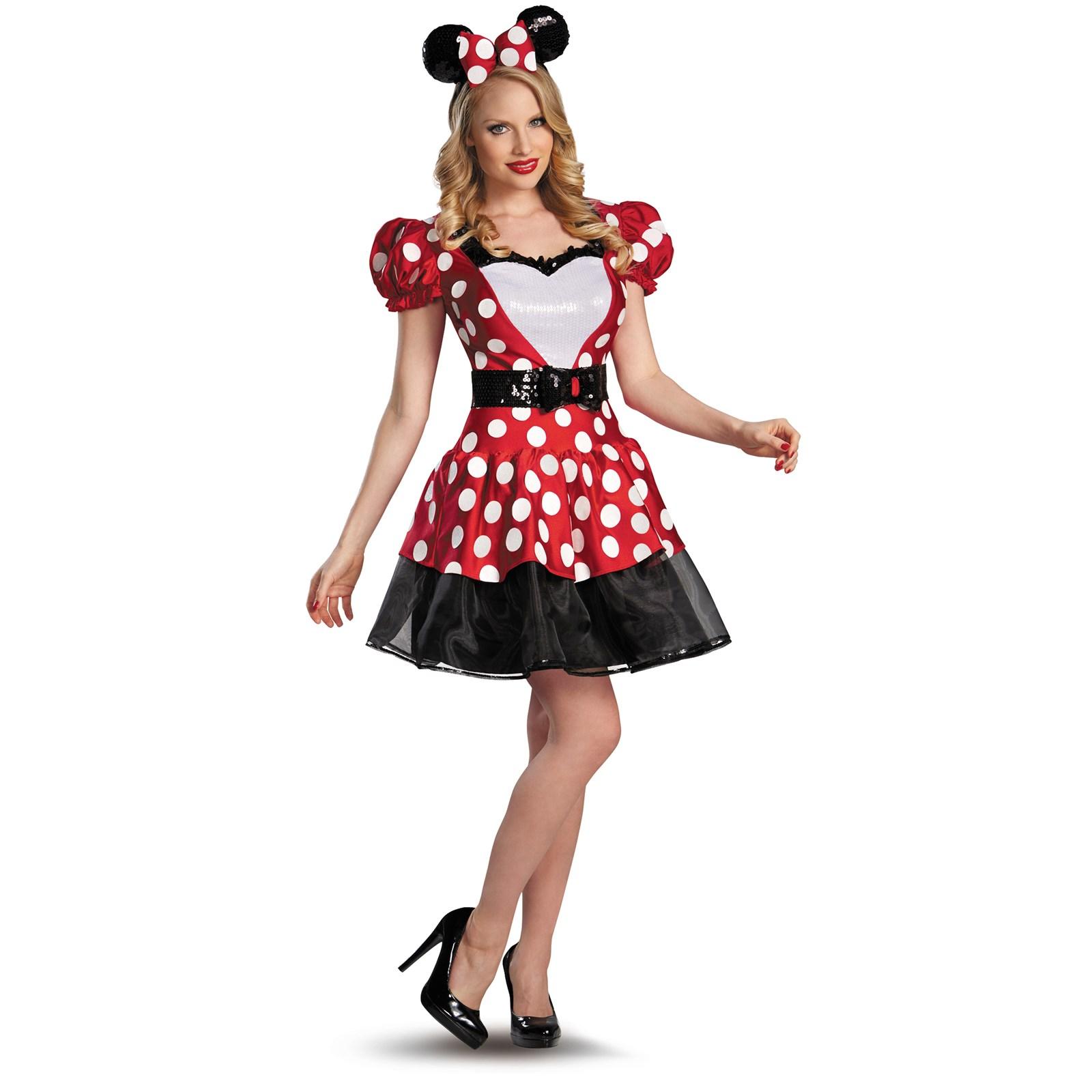 Red Minnie Glam Costume | BuyCostumes.com