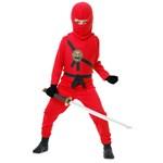 Red Ninja Child Costume