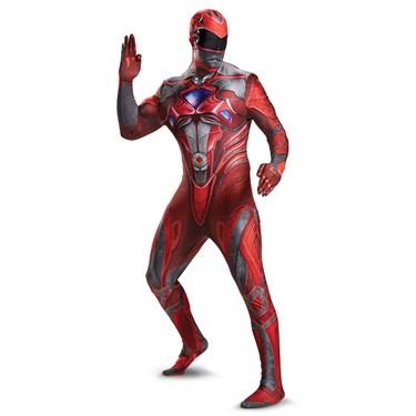 Red Ranger Movie 2017 Bodysuit Teen Costume