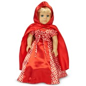 """Red Riding Hood 18"""" Doll Costume"""