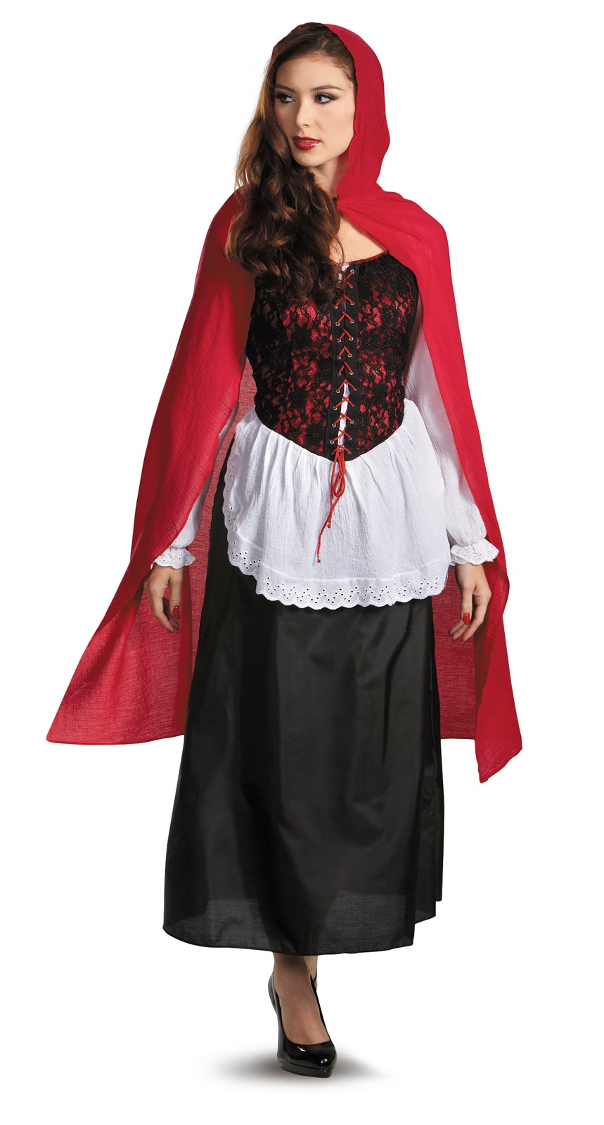 Red Riding Hood Deluxe Adult Costume | BuyCostumes.com