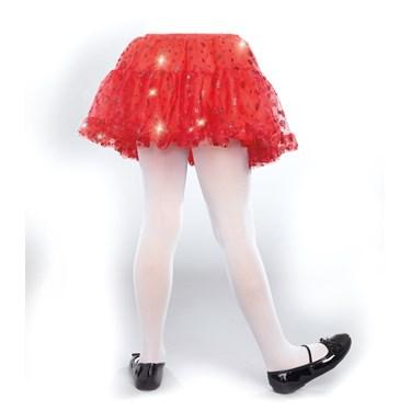 Red Sparkle Child Petticoat