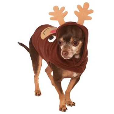 Reindeer Hoodie Pet Costume