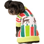 Reindeer Ugly Sweater Costume For Pets