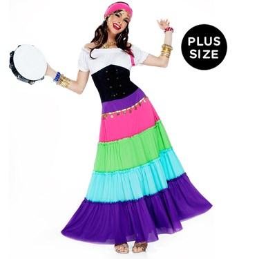 Renaissance Gypsy Adult Plus Size Costume