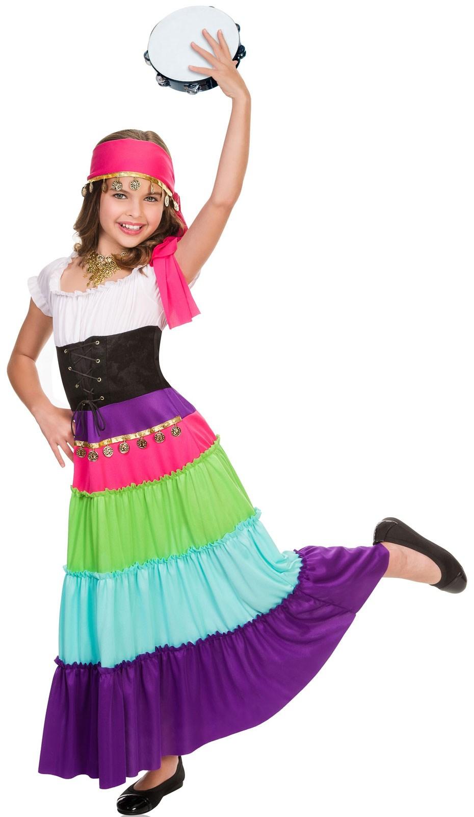 Renaissance Gypsy Costume For Girls