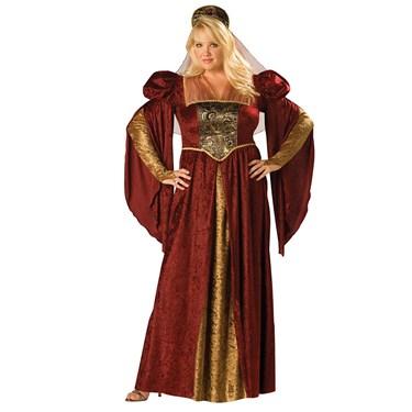 Renaissance Maiden Plus Costume