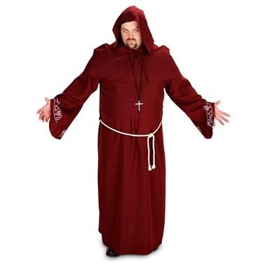 Renaissance Monk Adult Plus Costume