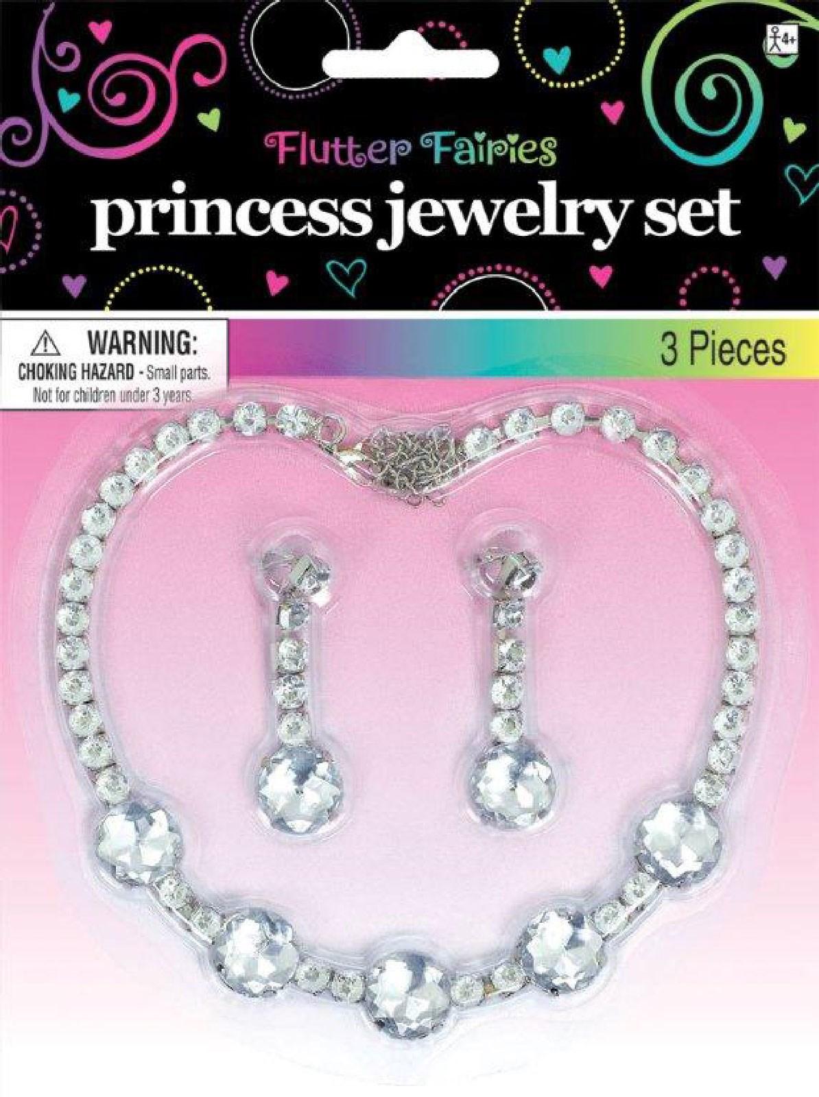 Rhinestone Jewelry Set For Girls